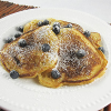 Thumbnail image for Cornmeal Blueberry Pancakes
