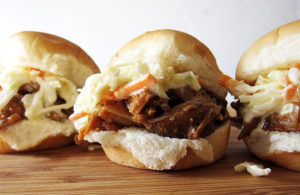 Crockpot Pulled Pork Sliders