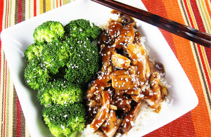 Crockpot Sesame Chicken | www.EatLaughPurr.com