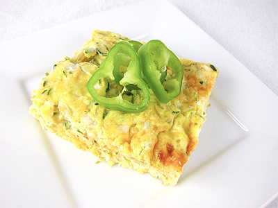Zucchini and Green Chile Breakfast Casserole – Eat Laugh Purr