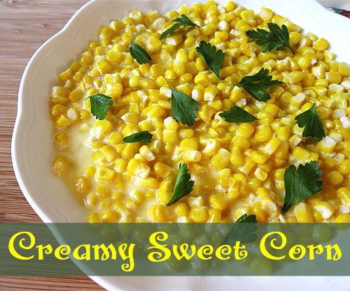 Creamy Sweet Corn