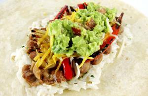 fajita burritos