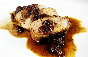 pork tenderloin with cherry sauce