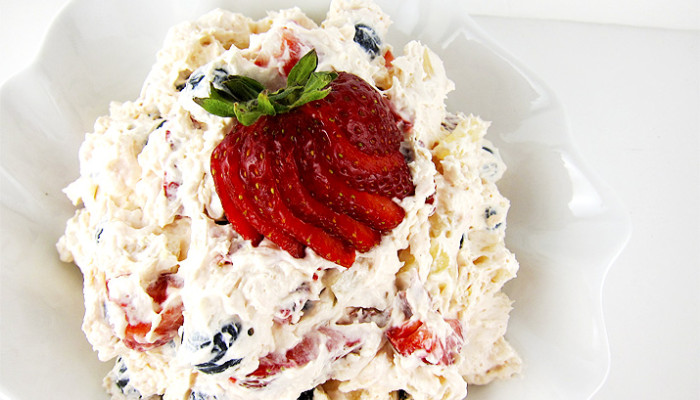 Cheesecake Fruit Salad