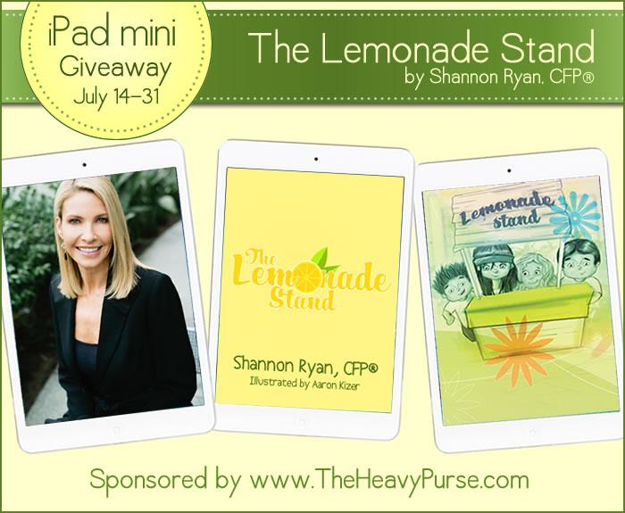 The Lemonade Stand iPad Mini Giveaway