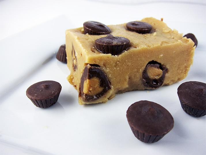 Peanut Butter Fudge | www.EatLaughPurr.com