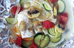 Citrus Cod with Vegetables | www.EatLaughPurr.com