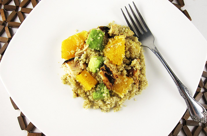 Citrus Chicken with Quinoa