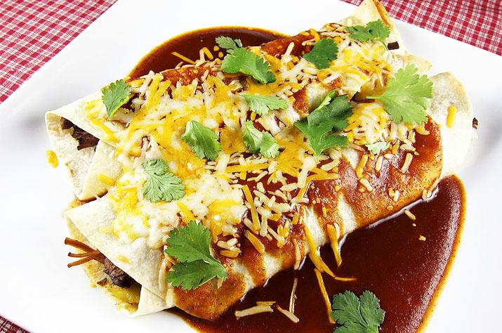 Beef Enchiladas | www.EatLaughPurr.com