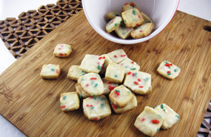 Shortbread Cookie Bites