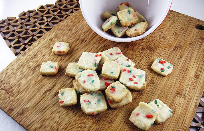 Shortbread Cookie Bites