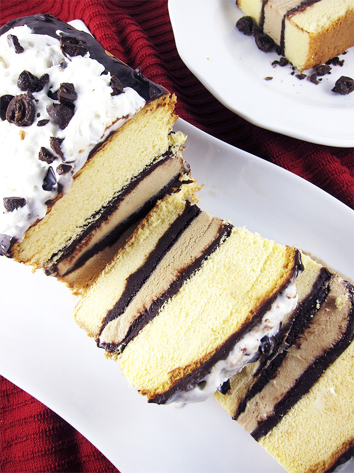 Coffee Ice Cream Pound Cake
